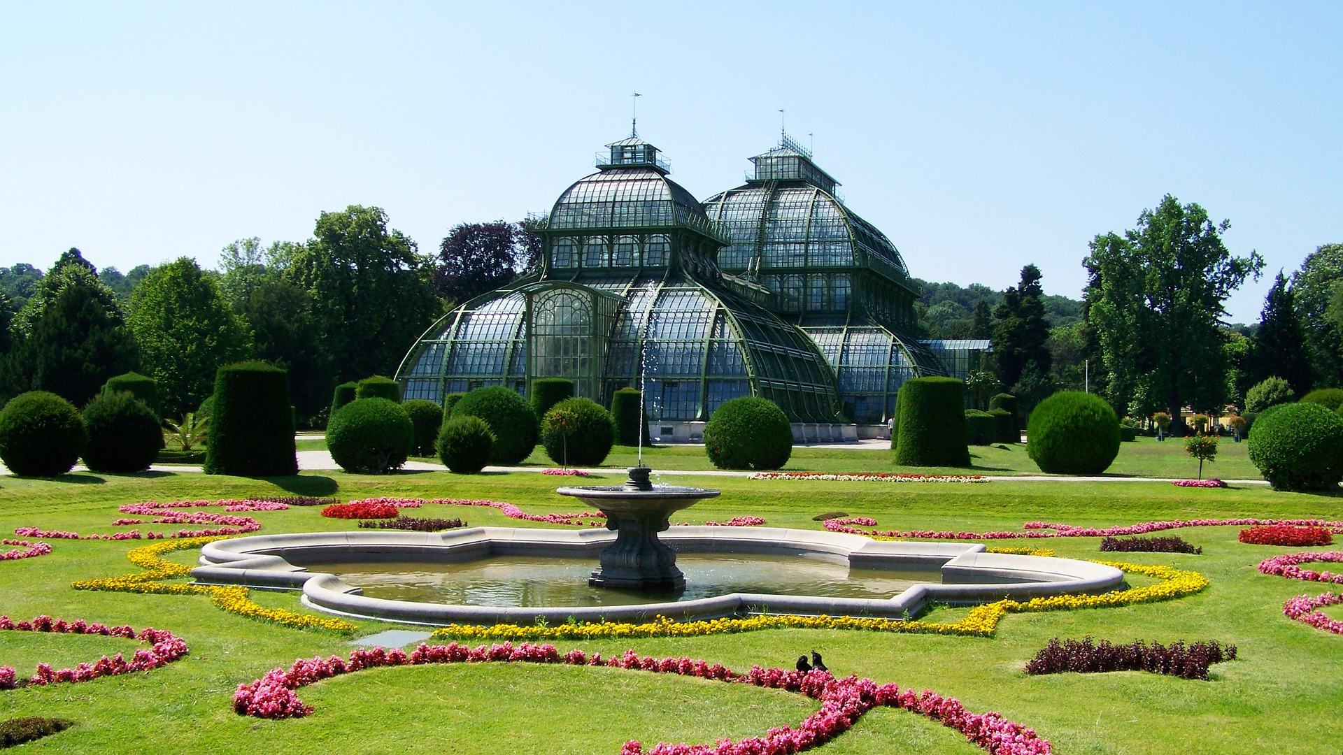 Schlossgarten Schönbrunn